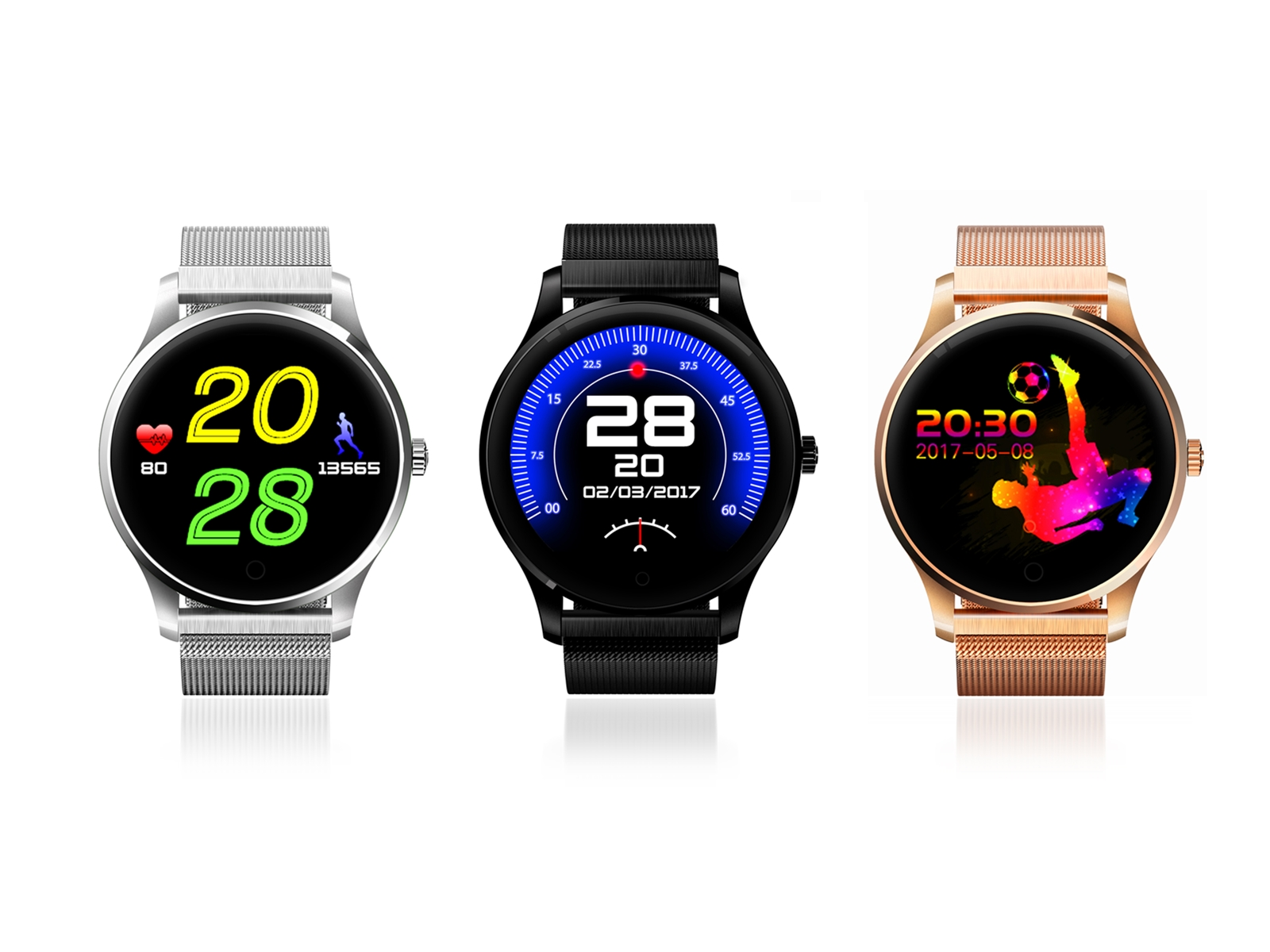 K89 bluetooth smart watch,heart rate,sleep monitor